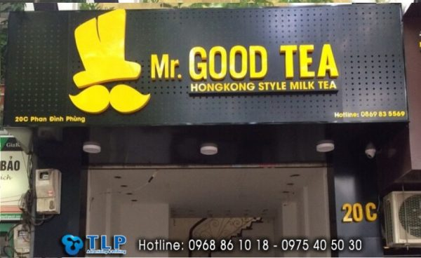 bien quang cao mr good tea
