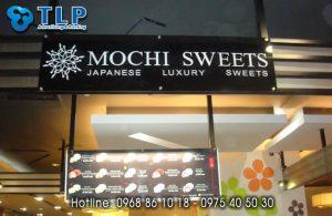 bien quang cao mochi sweet
