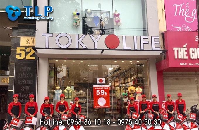 bien quang cao cua hang tokyo life