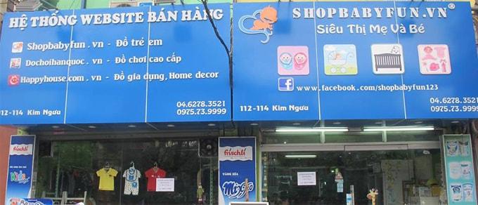 bien shop babyfun cu