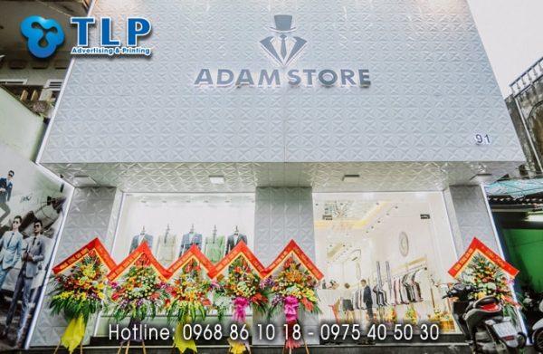 bien quang cao cua adam store