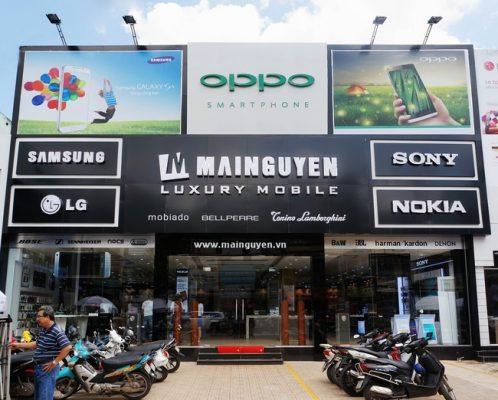 Làm biển quảng cáo điện thoại phù hợp lĩnh vực kinh doanh
