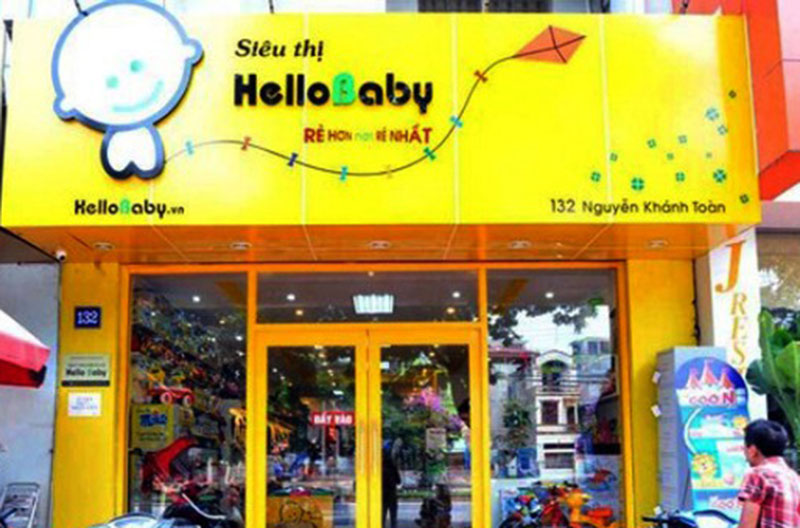 biển quảng cáo shop trẻ em