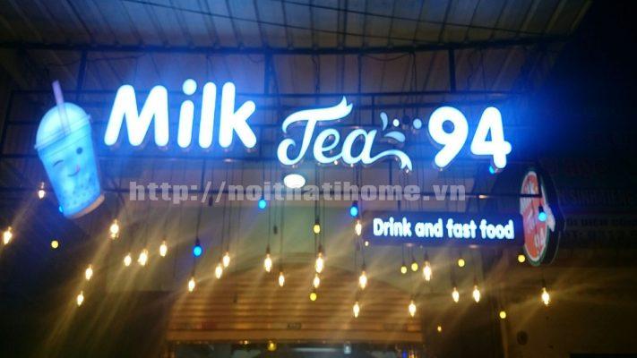 Biển quảng cáo trà sữa đẹp