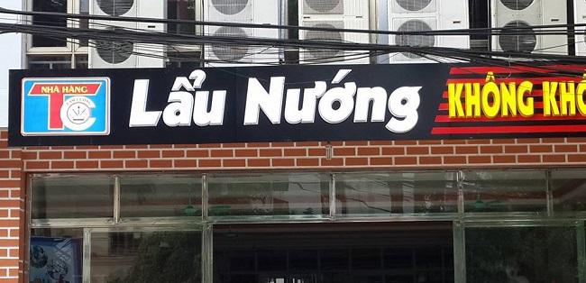 Biển quảng cáo lẩu nướng
