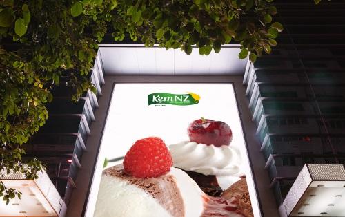 Thiết kế biển quảng cáo kem đẹp