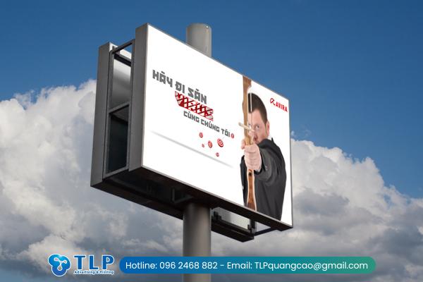 Biển quảng cáo ngoài trời sáng tạo